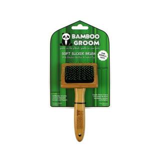 Bamboo Groom Soft Slicker / Soft Zupfbürste S