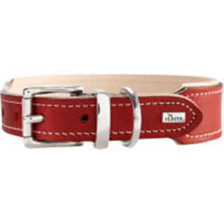 Halsband Virginia 50, rot/beige