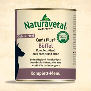 Natura Vetal Canis Plus Büffel Komplett-Menü 400g