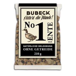 Bubeck - No. 1 mit Ente - getreidefrei- Hundekuchen 210g